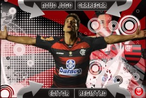 Skin Thiago Neves do Flamengo para o Brasfoot 2010